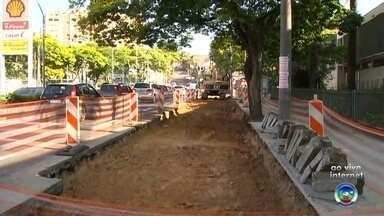 Trecho da Avenida Comendador Pereira Inácio é interditado para obras do BRT em Sorocaba - Um trecho da Avenida Comendador Pereira Inácio está interditado por conta de obras de pontos de ônibus do sistema BRT em Sorocaba (SP).