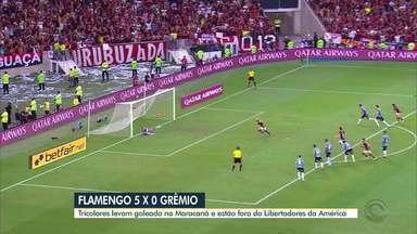 Diego Guichard analisa derrota do Flamengo na semifinal da Libertadores - Tricolor foi goleado pelo time carioca.