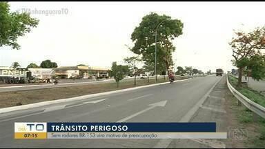 Alta velocidade em rodovia sem radares causa riscos para pedestres e ciclistas - Alta velocidade em rodovia sem radares causa riscos para pedestres e ciclistas