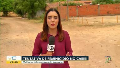 Mulher é esfaqueada no Cariri - Saiba mais em g1.com.br/ce