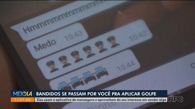 Bandidos aplicam golpes via celular - Eles se aproveitam dos sites de venda e pedem dinheiro pra lista dos seus contatos