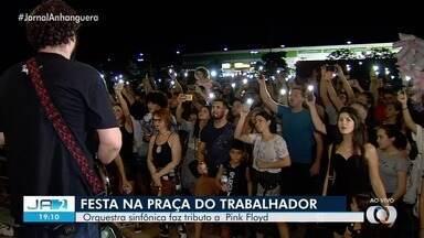 Goiânia comemora 86 anos com festa na Praça do Trabalhador - Apresentação musical é só uma das atrações do aniversário da capital de Goiás.