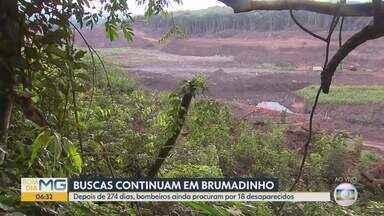 Nove meses após rompimento de barragem da Vale, buscas seguem por 18 desaparecidos - 252 mortos foram identificados.