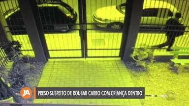 Preso suspeito de roubar carro com criança em São Leopoldo - Homem estava em uma clínica de reabilitação em Tramandaí, no Litoral Norte.
