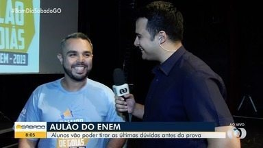 Maior Aulão de Goiás tem participação do Henrique Ramos e da Lilian Lynch - Acompanhe um quiz para esquentar os alunos.