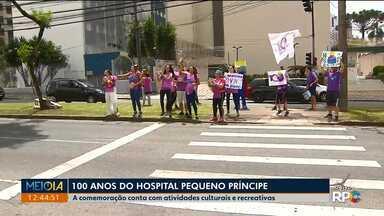Hospital Pequeno Príncipe completa 100 anos - Esse é o maior hospital infantil do país.