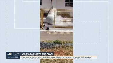Vazamento de gás no hospital de Santa Maria assusta pacientes - Apenas as áreas próximas ao vazamento foram evacuadas. Os pacientes internados nos quartos não foram afetados.