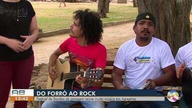Festival de Bandas de Garagem é promovido em Agrestina - Evento é gratuito