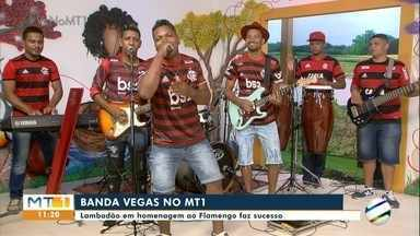 Banda Vegas de Poconé faz sucesso com lambadão em homenagem ao Flamengo - Banda Vegas de Poconé faz sucesso com lambadão em homenagem ao Flamengo.