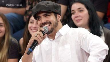 """Caio Castro fala sobre seu personagem em 'A Dona do Pedaço' - Ator confessa: """"Ganhou uns 10 quilinhos de força"""""""