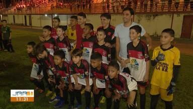 Esporte: veja as principais notícias do Globo Esporte - Ex-jogadores do Flamengo, Ronaldo Angelim e Athirson participam de jogo solidário em Roraima.