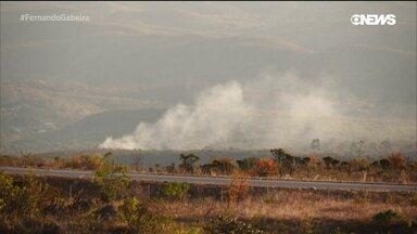 Serra do Cipó sofre com a seca e as queimadas