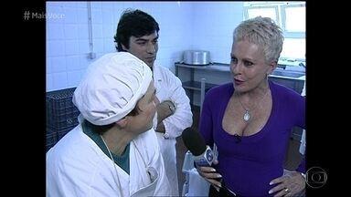 Em 2002, Ana Maria foi conhecer a fabricação dos queijos da Serra da Estrela, em Portugal - Relembre as viagens da apresentadora nesses 20 anos de 'Mais Você'