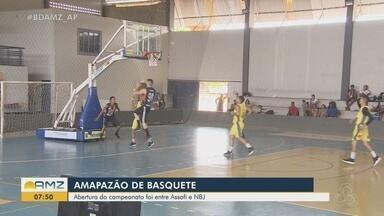 Duas partidas abrem o Campeonato Adulto Masculino de Basquete do Amapá - As equipes do Novo Basket Jardim (NBA) e Guarany estrearam com vitória, em cima do Novo Basquete Amapá e Abap Club Master, respectivamente.