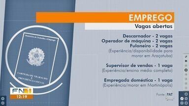 Vagas de emprego estão disponíveis no Posto de Atendimento ao Trabalhador - Interessados podem contatar o PAT de Presidente Prudente.