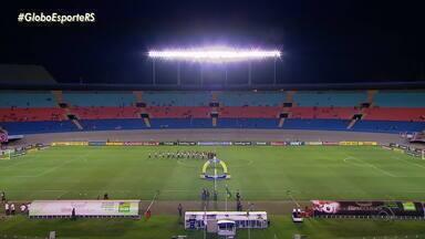 Brasil de Pelotas vence o Vila Nova por 2x0, no Serra Dourada - Assista ao vídeo.