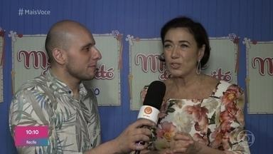 Confira os bastidores da pré-estreia de 'Maria do Caritó' - Lilia Cabral fala sobre a história da solteirona que faz de tudo para casar