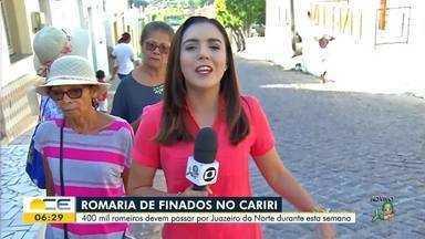 Romaria de Finados movimenta o Cariri - Saiba mais em g1.com.br/ce