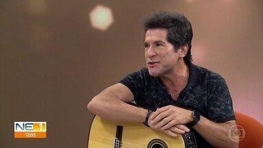 Daniel volta ao Recife com novo show e promete emocionar o público - Cantor participou no NE1 desta quinta-feira (31).