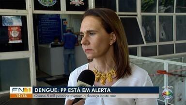 Índice de Breteau coloca Presidente Prudente em estado de alerta - Quase 8 mil pessoas já tiveram dengue neste ano.