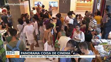 Panorama Internacional Coisa de Cinema exibe mais de 130 filmes em Salvador e Cachoeira - Evento segue até dia 6 de novembro.