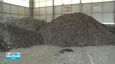Óleo nas praias: fábrica de cimento usa substância em fornos - Empresa da Paraíba passou a reaproveitar o material.