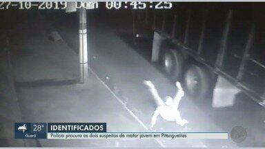 Polícia Civil procura os dois suspeitos de matar jovem em Pitangueiras, SP - Vítima foi baleada ao tentar fugir de assalto.