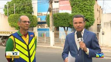 Mototaxista passam por capacitação em Santa Inês - 500 profissionais já iniciaram o processo e a previsão é que esse número chegue 600 na cidade.
