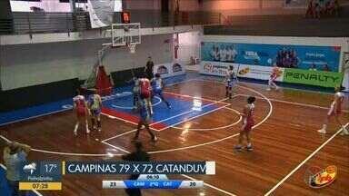 Campinas vence no basquete feminino e XV decide vaga na final da Copa Paulista - Decisão contra o Mirassol é as 20h15 deste sábado (2).
