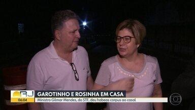 Garotinho e Rosinha deixam a cadeia - Ex-governadores foram beneficiados por habeas corpus do ministro Gilmar Mendes