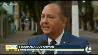 Evento discute o abandono e maus tratos de animais - Evento discute o abandono e maus tratos de animais