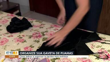Dica da Lucy: veja como organizar a gaveta de pijamas - undefined