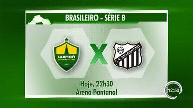 Braga visita o Cuiabá pela Série B nesta sexta - Massa Bruta é líder isolado da competição.
