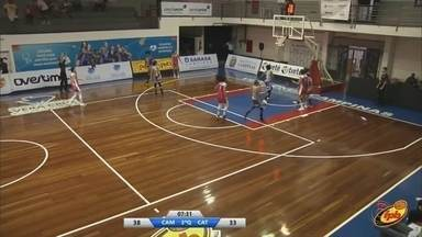 Catanduva perde para Campinas pelo Campeonato Paulista de basquete feminino - Catanduva perde para Campinas pelo Campeonato Paulista de basquete feminino.