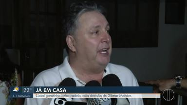 Casal Garotinho deixa a cadeia após decisão de Gilmar Mendes - Esta foi a quinta prisão de ex-governador do Rio e a terceira da ex-governadora, que deixaram prisão de Benfica e Bangu, respectivamente, na noite de quinta (31).