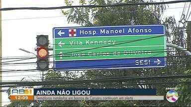 Motoristas reclamam do funcionamento de semáforo em Caruaru - Prazo dado para o conserto foi esgotado e a Destra reforça um novo prazo.
