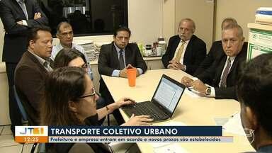 Acordo entre prefeitura e empresa estabelece novos prazos da licitação - Saiba mais com a repórter Débora Rodrigues.