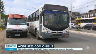 Quatro ficam feridos em acidente envolvendo ônibus em Salvador; vítimas podem pedir DPVAT - Somente em 2019, 100 indenizações já foram pagas na capital baiana.