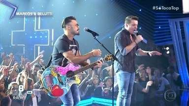 Marcos & Belutti canta 'Não Planeje Nada' - Dupla está no ranking música rádio Sul