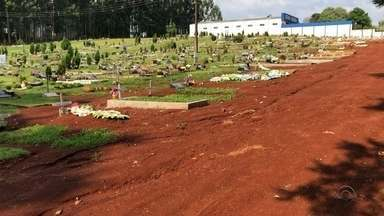 Em Ijuí, alguns cemitérios enfrentam problemas - Um caso de violação de túmulo está sendo investigado.