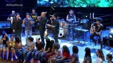 Rick e Renner com João Neto e Frederico cantam Telefone mudo - Veja