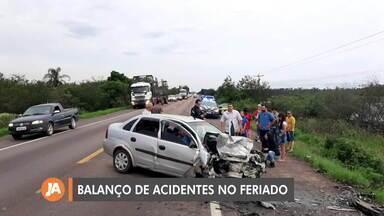 PRF realiza balanço dos acidentes de trânsito no feriado de Finados - Assista ao vídeo.