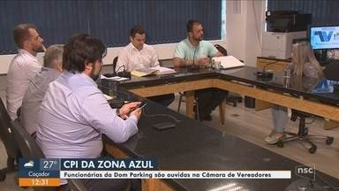 Funcionários de empresa são ouvidos na CPI da Zona Azul de Florianópolis - Funcionários de empresa são ouvidos na CPI da Zona Azul de Florianópolis