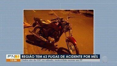 Motociclista morre vítima de acidente de trânsito em Presidente Prudente - Caso ocorreu no Jardim Aviação.