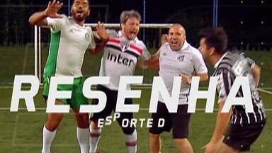 Resenha 2019: Garotinhos comentam resultados dos paulistas na 30ª rodada do Brasileirão - A rodada foi marcada pela goleada do Flamengo sobre o Corinthians. Já o Palmeiras, São Paulo e Santos venceram e seguem no G4.