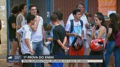 """Candidatos de São Carlos e região tiveram dificuldades com o tema da redação do Enem - Prova pediu que estudantes falassem sobre """"A democratização do acesso ao cinema no Brasil""""."""