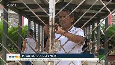 Primeiro dia do Enem - 58 Mil estudantes foram inscritos em Rondônia