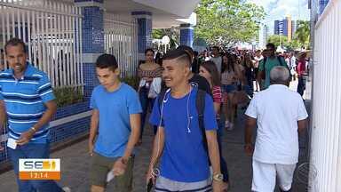 Saiba como foi o primeiro dia do Enem em Sergipe - Saiba como foi o primeiro dia do Enem em Sergipe.
