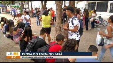 No interior do Pará, candidatos se mobilizam para participar da prova do Enem 2019 - No interior do Pará, candidatos se mobilizam para participar da prova do Enem 2019