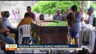 Polícia investiga um duplo homicídio em Bom Jesus do Tocantins, sudeste do Pará - Polícia investiga um duplo homicídio em Bom Jesus do Tocantins, sudeste do Pará